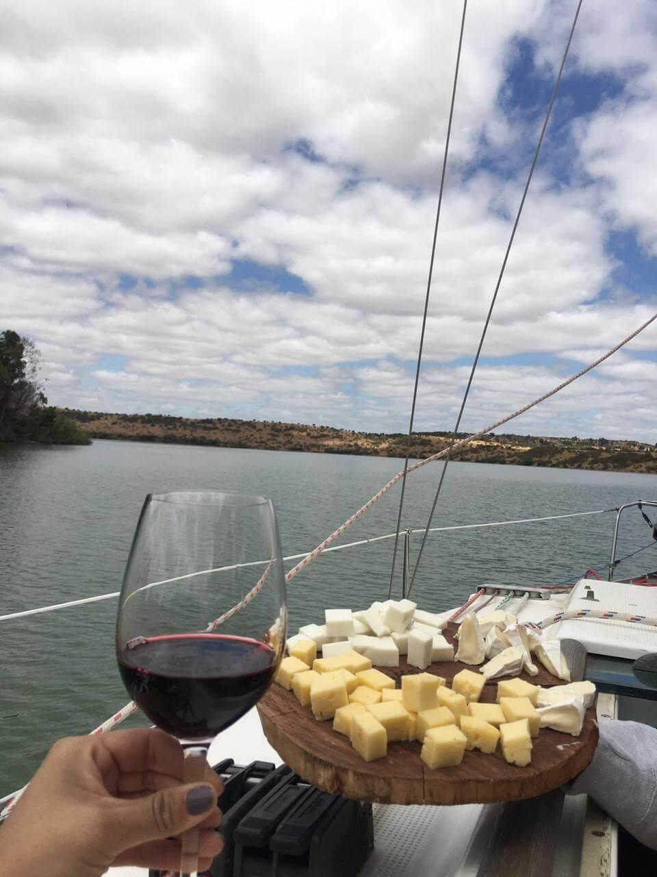 navegacion por el lago rapel ruta tagua tagua almahue